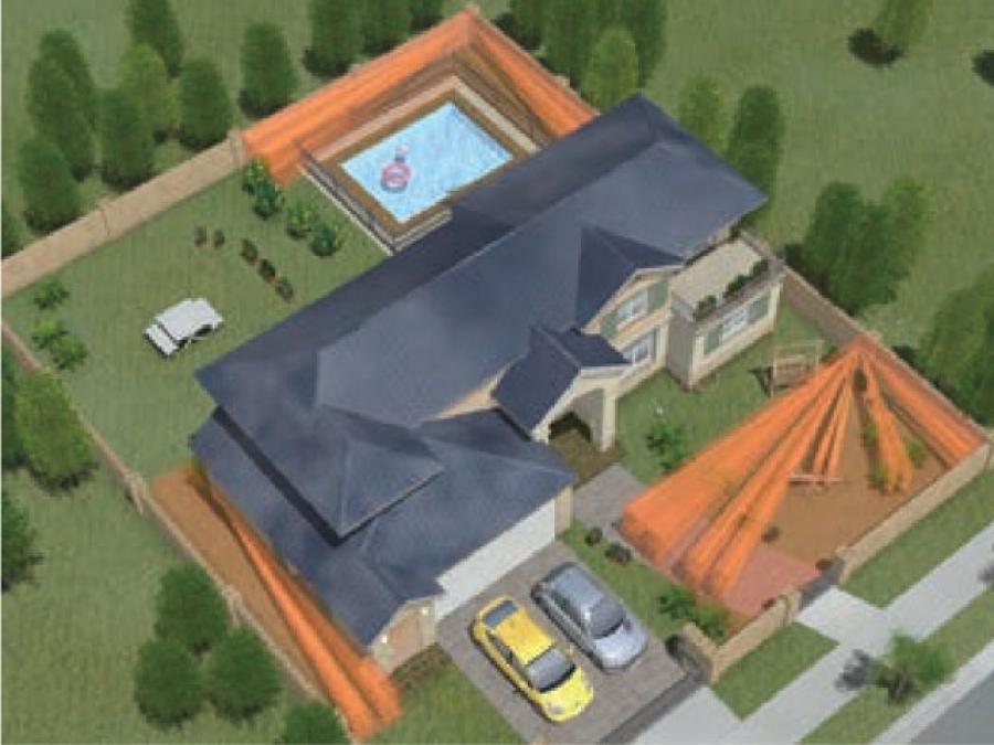 Sensore volumetrico e barriera volumetrica infrarosso da esterno per giardini, terrazzi, finestre, muri e balconi