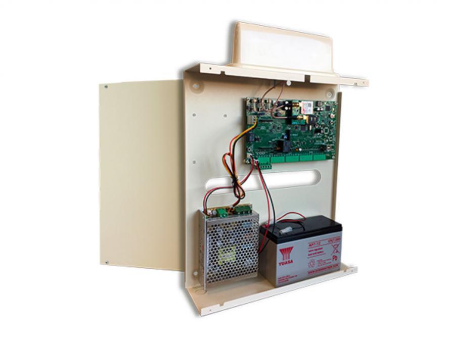 Centrale allarme 8 zone espandibile a 64 con combinatore GSM integrato e App