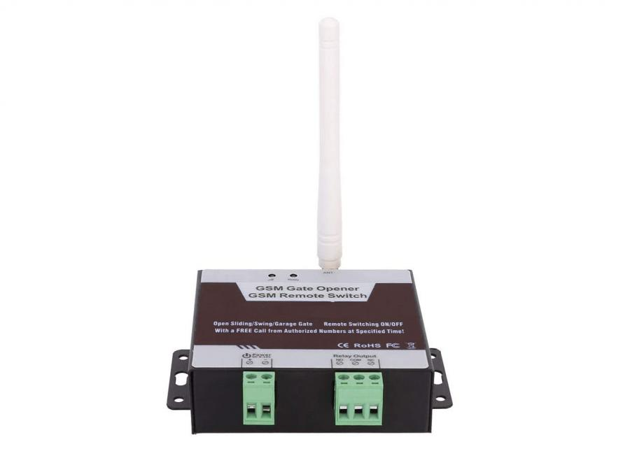 Combinatore telefonico GSM per apertura cancello apertura da App SMS o chiamata
