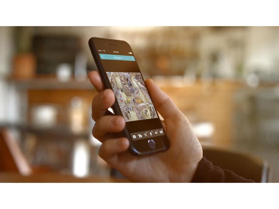 Videoregistratore DVR videosorveglianza app remota