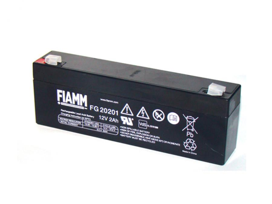 Batteria per Antifurto 12V 2,2 Ah ricaricabile al piombo