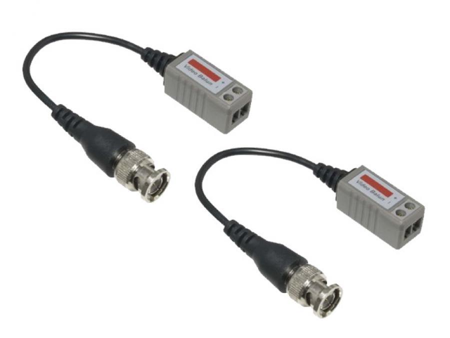 Video Balun per connessione telecamere tramite cavo telefonico o cavo di rete ethernet