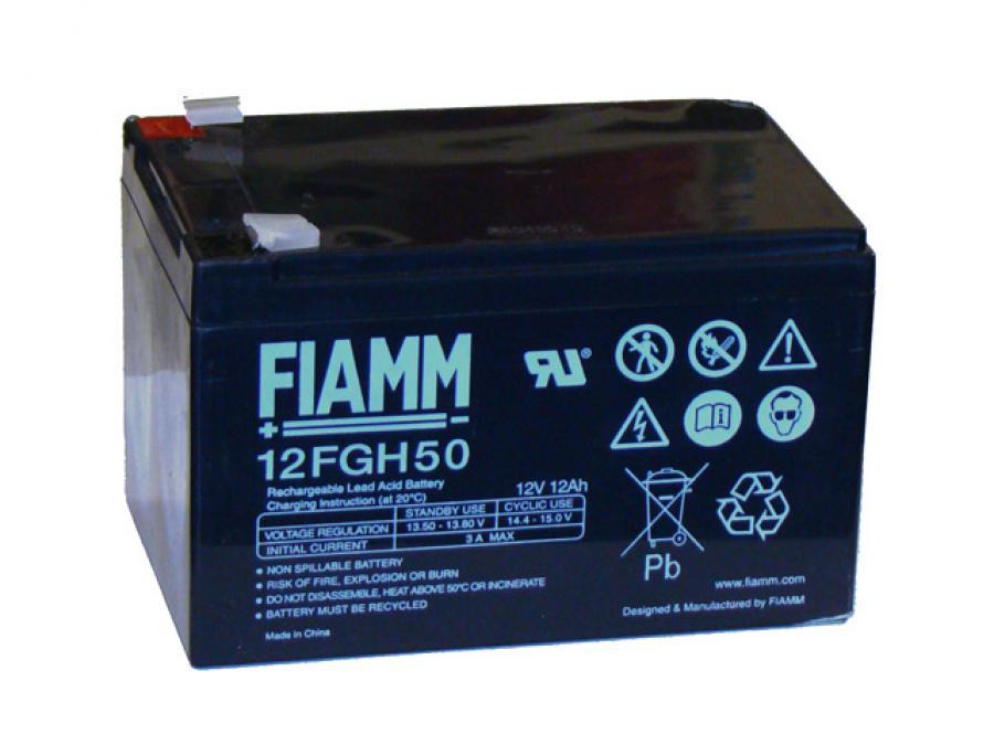 Batteria per Antifurto 12V 12 Ah ricaricabile al piombo