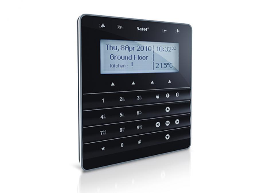 Tastiera touch screen capacitiva per centrali SATEL Integra