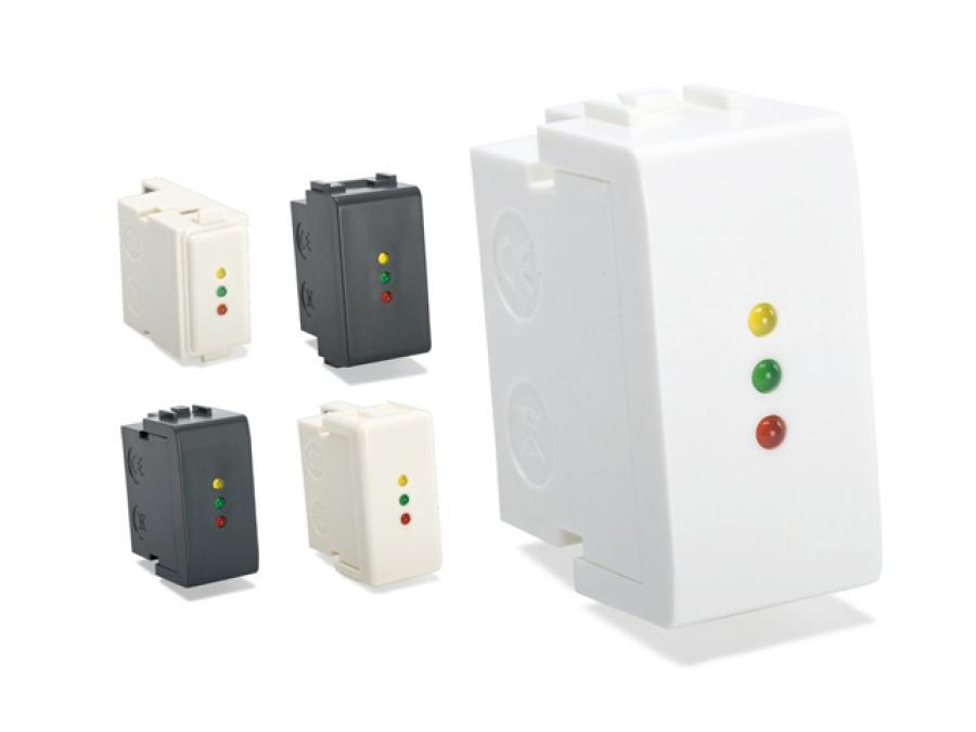 Inseritore di prossimità con 3 LED di segnalazione per centrali SATEL