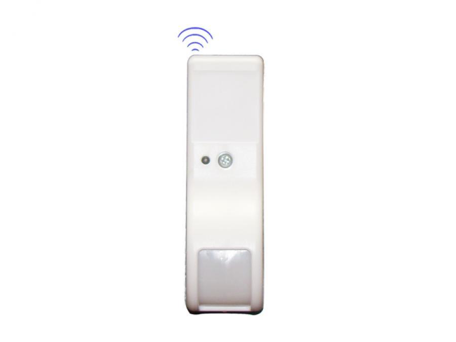 Sensore infrarosso a tenda wireless per semi esterni tra finestra e persiana