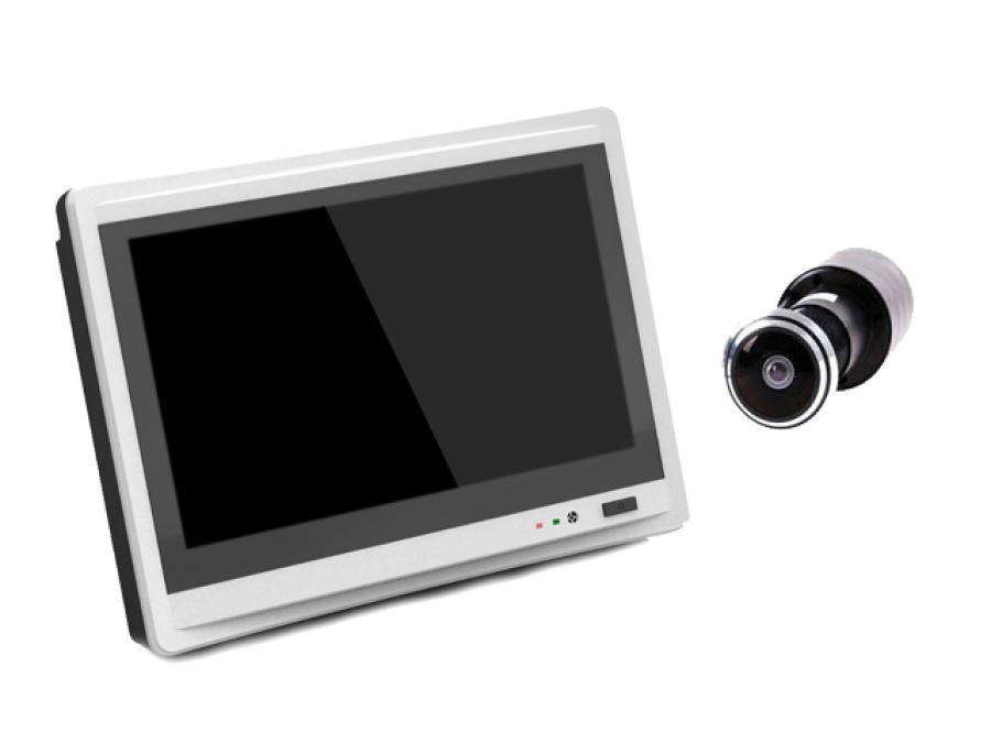 Kit Spioncino porta con Monitor, Registratore ed Internet