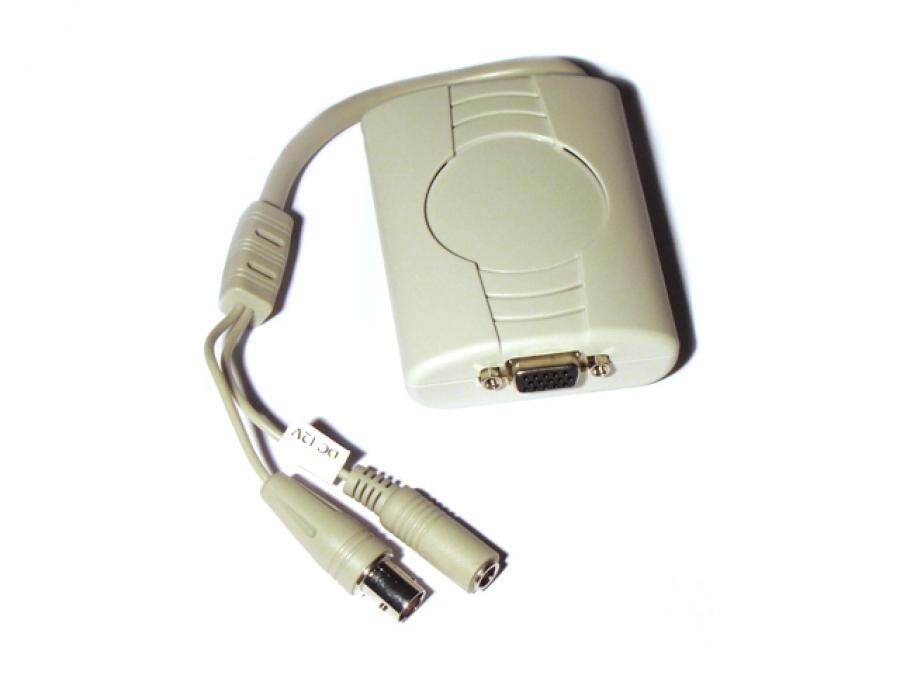 Convertitore BNC/VGA per collegamento Monitor VGA a DVR