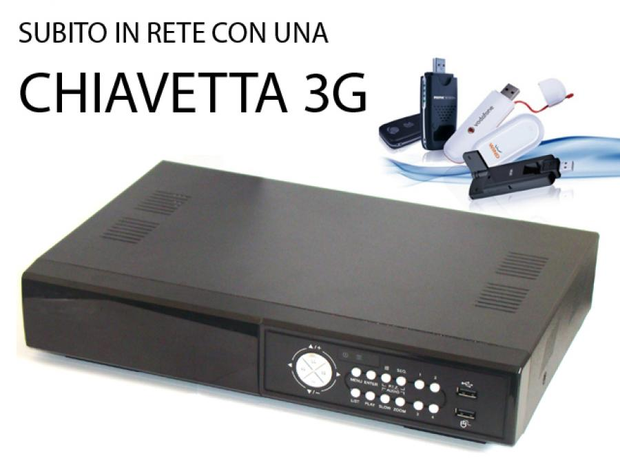 DVR con SIM 4G 8 Canali