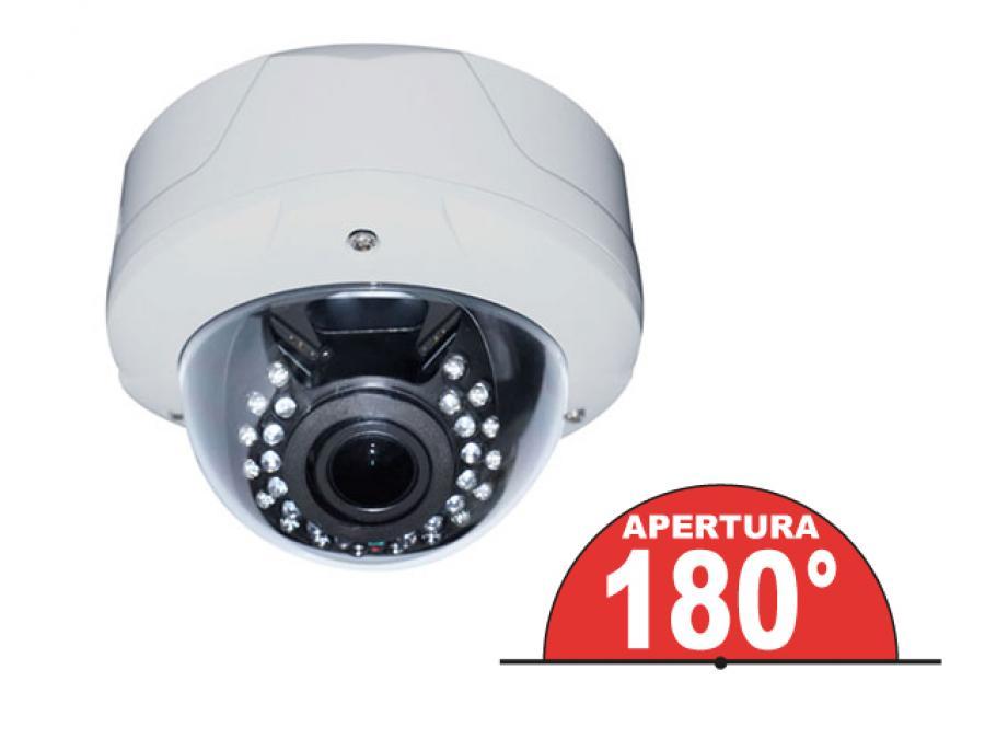 Dome camera videosorveglianza professionale esterno/interno analogica/AHD Sony CCD con obiettivo 180 gradi