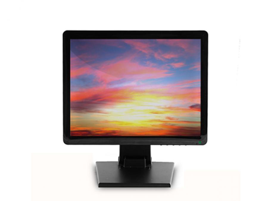 Monitor Videosorveglianza 17 pollici con BNC, HDMI e VGA per TVCC
