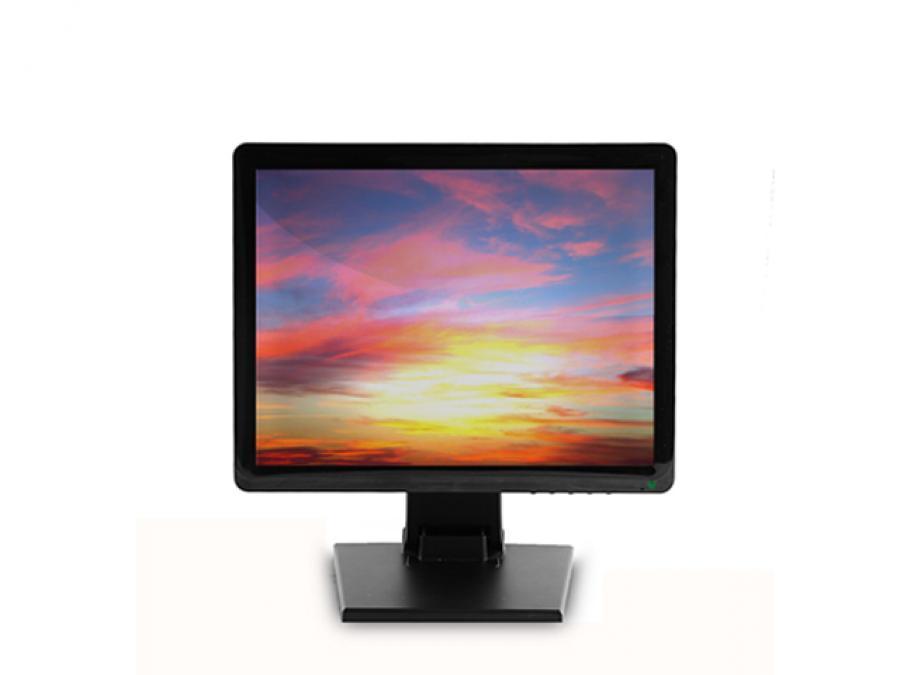Monitor Videosorveglianza 15 pollici con BNC, HDMI e VGA per TVCC