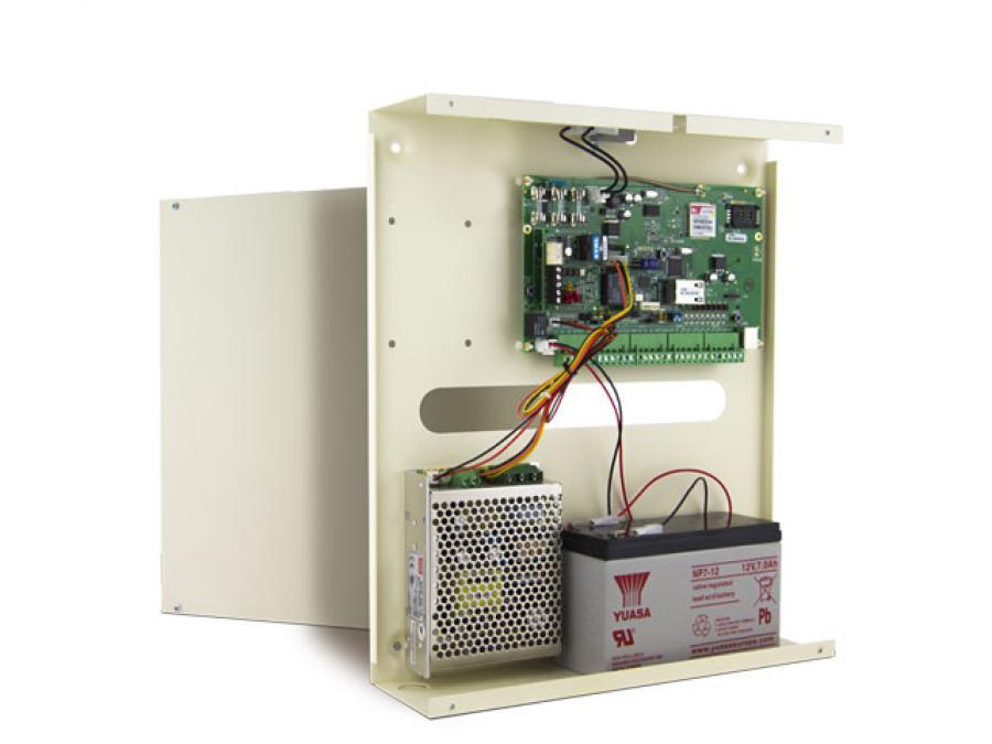 Centrale allarme 8 zone espandibile a 64 con combinatore PSTN
