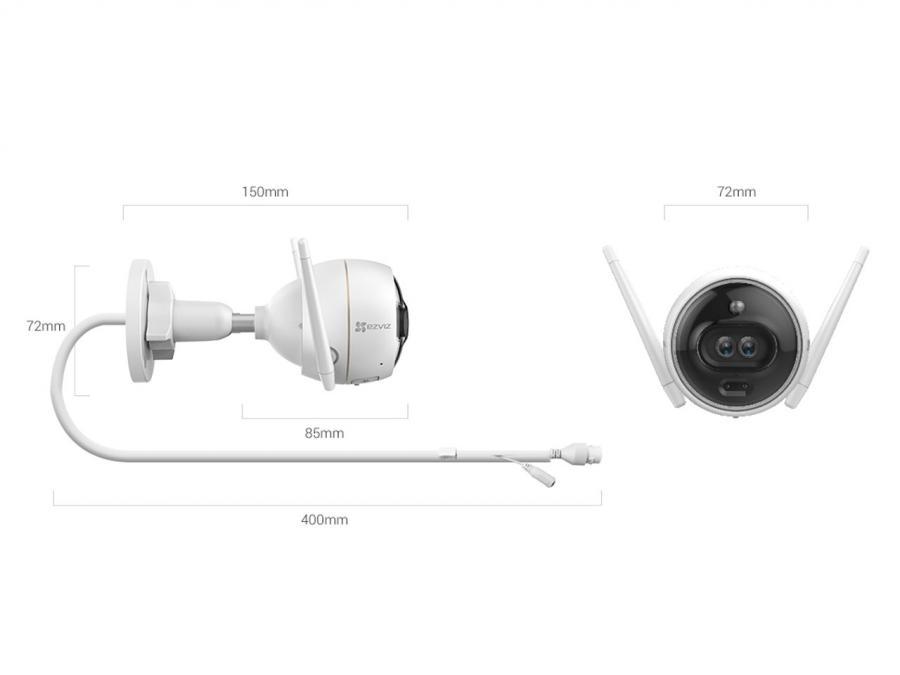 Telecamera Ezviz c3x dimensioni vendita