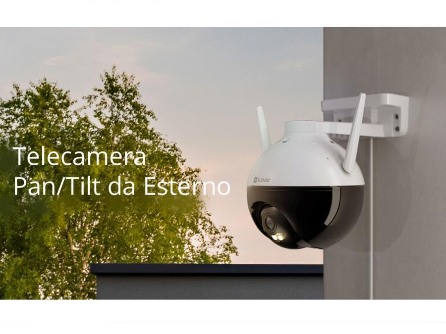 Telecamera Ip da esterno pan tilt