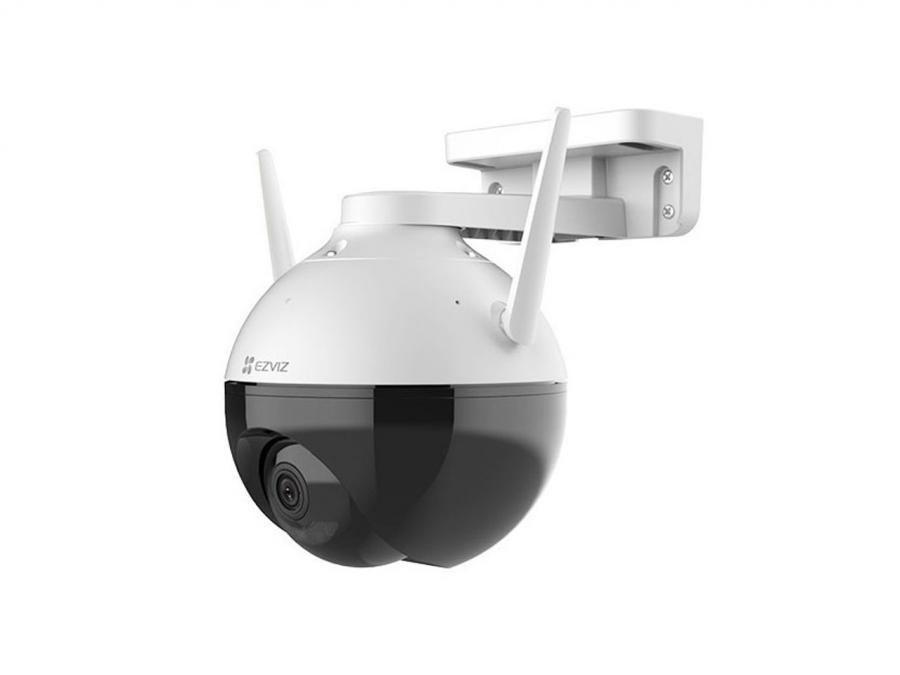 IP Camera P2P con Brandeggio Pan/Tilt WIFI da esterno Full HD 1080p con LED infrarosso, Sirena Strobo e App