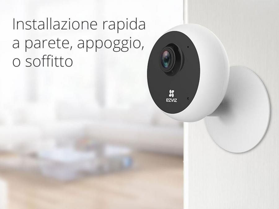 IP cam Roma installazione a parete e soffitto