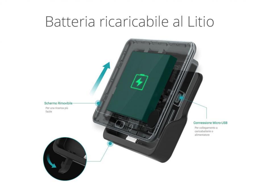Spioncino a batteria wireless per porta blindata