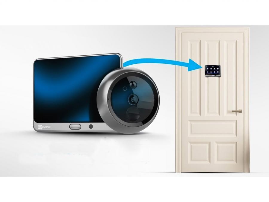 Spioncino digitale WIFI Porta con Telecamera HD, registrazione, sensore di movimento e controllo remoto da App