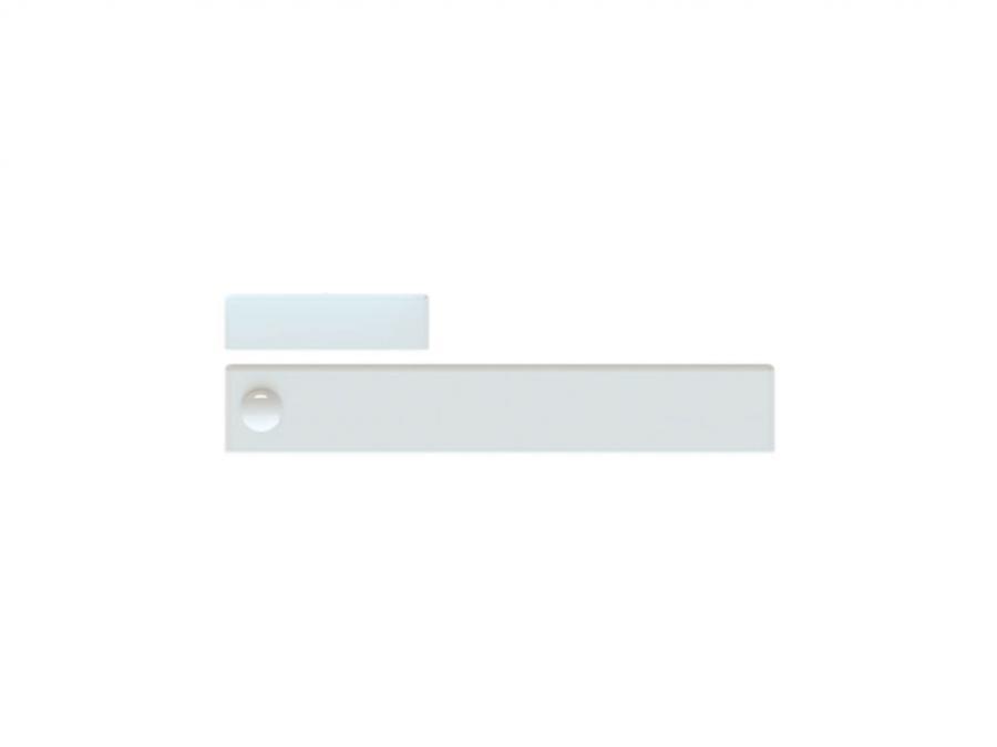 Contatto magnetico con sensore sismico wireless bidirezionale  COLORE: bianco o marrone