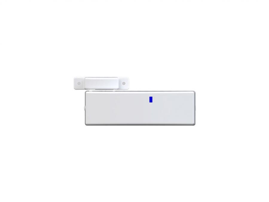 Contatto magnetico wireless bidirezionale per tapparelle con contatto a cordino
