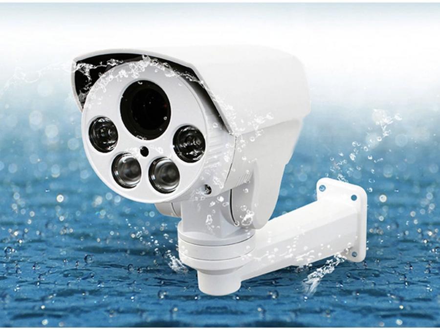 Telecamera PTZ waterproof IP66 motorizzata zoom 10x