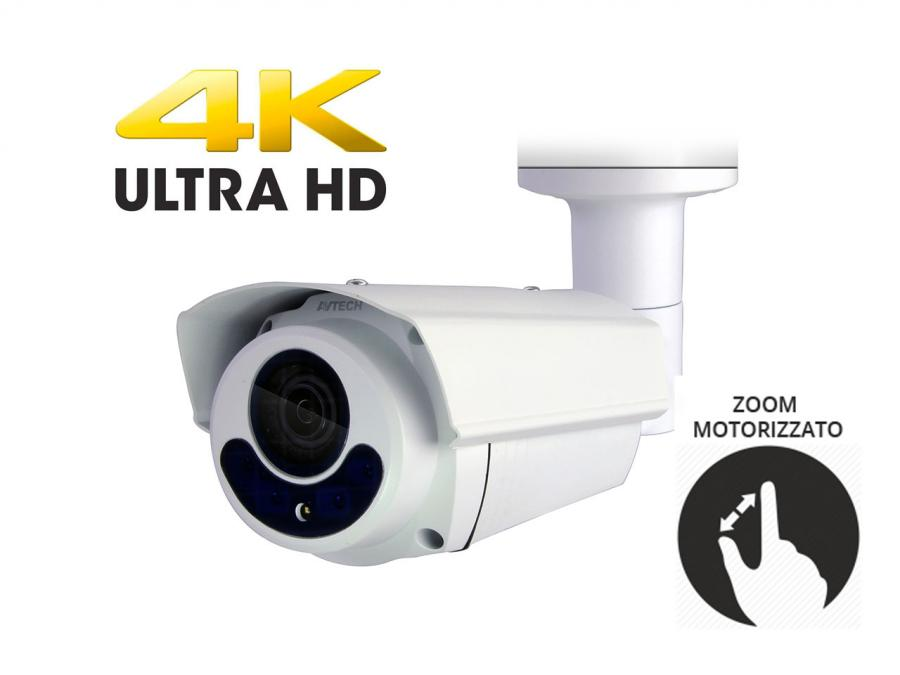 Telecamera videosorveglianza professionale esterno analogica Varifocal motorizzato Sony CMOS 4in1 5 Megapixel 4K